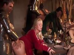 Hottest pornstars Kristi Klenot, Kathy Anderson and Claudia Adams in incredible blowjob, cunnilingus porn clip