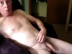 Bi grandpa wanking tube porn video