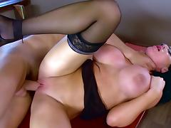 Boss, Big Tits, Blowjob, Boss, Deepthroat, Glasses