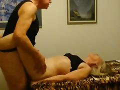 Hairy mature loves cocks