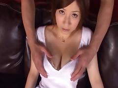 Asian cowgirl big tits fondled superbly in hardcore compilations porn tube video