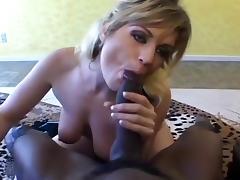 Tyla Wynn Sucks And Jerks A Black Cock porn tube video
