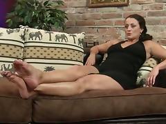 Mature sasha sexy feet worship porn tube video