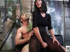 Caught, BDSM, Caught, Femdom, Italian, Pantyhose