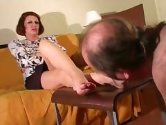 Mature Fetish, Feet, Femdom, Mature, Mistress, Old