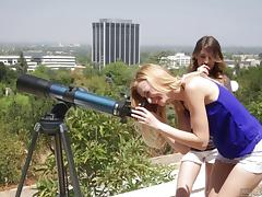 Scissoring adventure with Alexa Grace and her friend Kristen Scott tube porn video