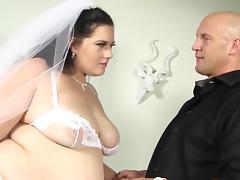 BBW has Pre Nuptial Naughties porn tube video