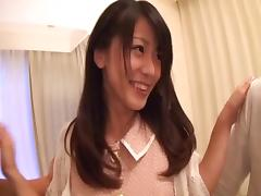 Small tits Asian loves when fucked hardcore in mmf porn porn tube video