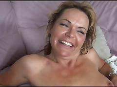 Busty MILF in stockings gets black cock pounding porn tube video