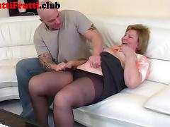 Chubby Granny first anal porn tube video