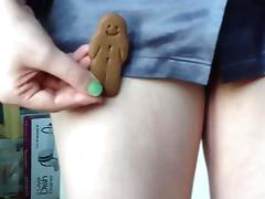 Happy Holidays, Naughty chocolate biscuit man tube porn video
