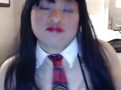 Schoolgirl asia