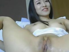 Asian Hottie Squirts with Dildo porn tube video