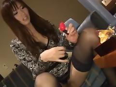 Sexy Asian cowgirl riding huge dick hardcore in blowjob compilations