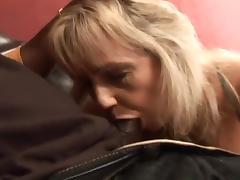 White Whore Gets Black Cum Blasted