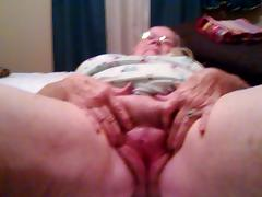 Grandmaw On Bed