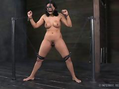 Busty Penny is a sucker for an arousing BDSM fun in the dungeon