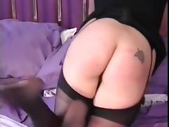 Spanking the old fashioned way