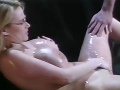 Bisexual, Big Tits, Bisexual, Blonde, Fingering, Gangbang