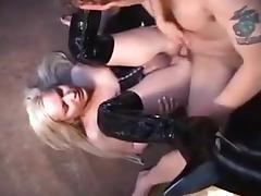 Fabulous Amateur Shemale movie with Latex, Blonde scenes porn tube video