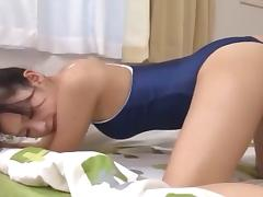 Hot brunette honey has her juicy Asian snatch drilled porn tube video