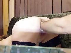 Russian dp fist anal Pussy