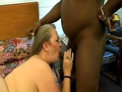 Grandma In Sexy Nylons Fills Her Holes With Black Cock tube porn video
