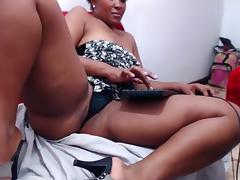 Webcam, Amateur, Brunette, Ebony, Solo, Webcam