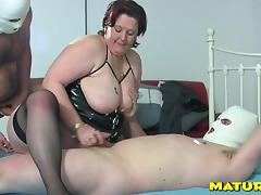 Fat senorita enjoys every second of the deep double penetration