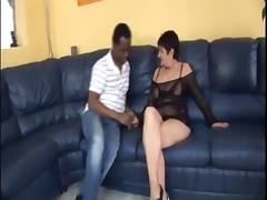 Voluptous Granny and Her Black Sex Toy