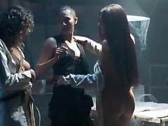 Lesbian Swingers, Group, Lesbian, Nipples, Orgy, Threesome