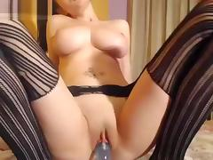 Passiongoddes69 shows her big tits tube porn video