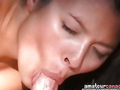 Horny and pregnant outdoors gets wet pussy filled