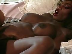 Ebony Chick Gets Fucked With A Dildo porn tube video