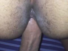 Hairy ass backshots