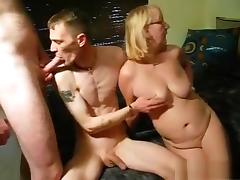 nasty fun with 2 guys
