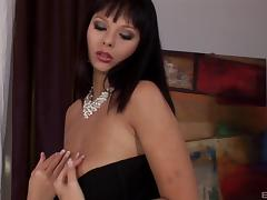 Latina with massive hooters and the elegant drilling for her pussy porn tube video