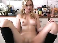 Exotic Homemade video with Masturbation, Blonde scenes