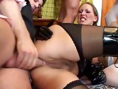 Gape Session: Partying in Sarah & Mandy's assholes