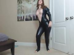 Catsuit, Catsuit, Dance, Latex, Teen