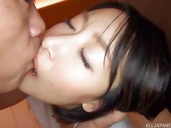 Black-haired chick Eri Ito still loves the good old pussy pounding porn tube video