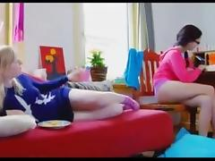 Nerdy british lesbians tube porn video