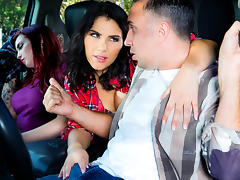 Keiran Lee & Valentina Nappi in One For The Road - DigitalPlayground tube porn video
