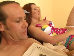 Sweet Melody wants those toys and the cock deep inside her asshole!