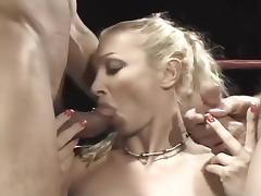 Wild Whores Cocksucking in the Ring porn tube video