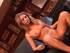 Young Jaelyn Fox Rubs Her Horny Clit