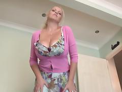 Blonde, Blonde, Legs, Masturbation, Mature, Old