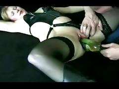 Slut Wife is bottle fucked tube porn video