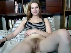 Favourite hairy girl gets her dildo out again porn tube video