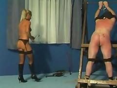 Caning and whipping by mistress Gitta porn tube video